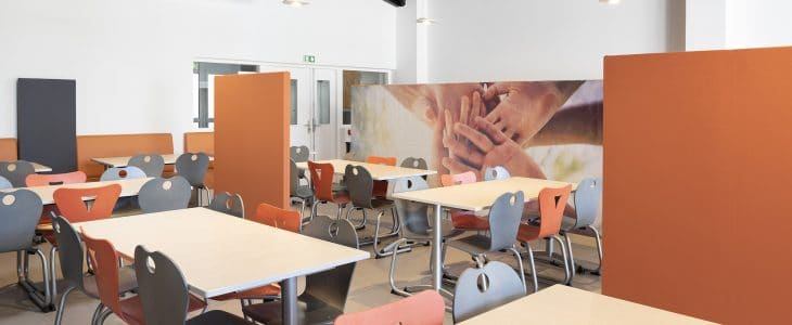 Restaurant scolaire acoustique