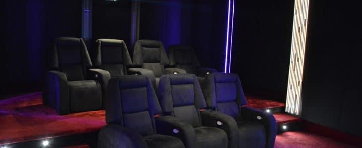 Salle de Cinéma - SAS CineDesigns