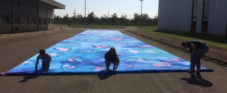Artiste Charlotte DENAMUR à la 15eme biennale de lyon