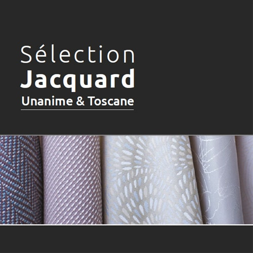 Sélection Jacquard unanime et toscane