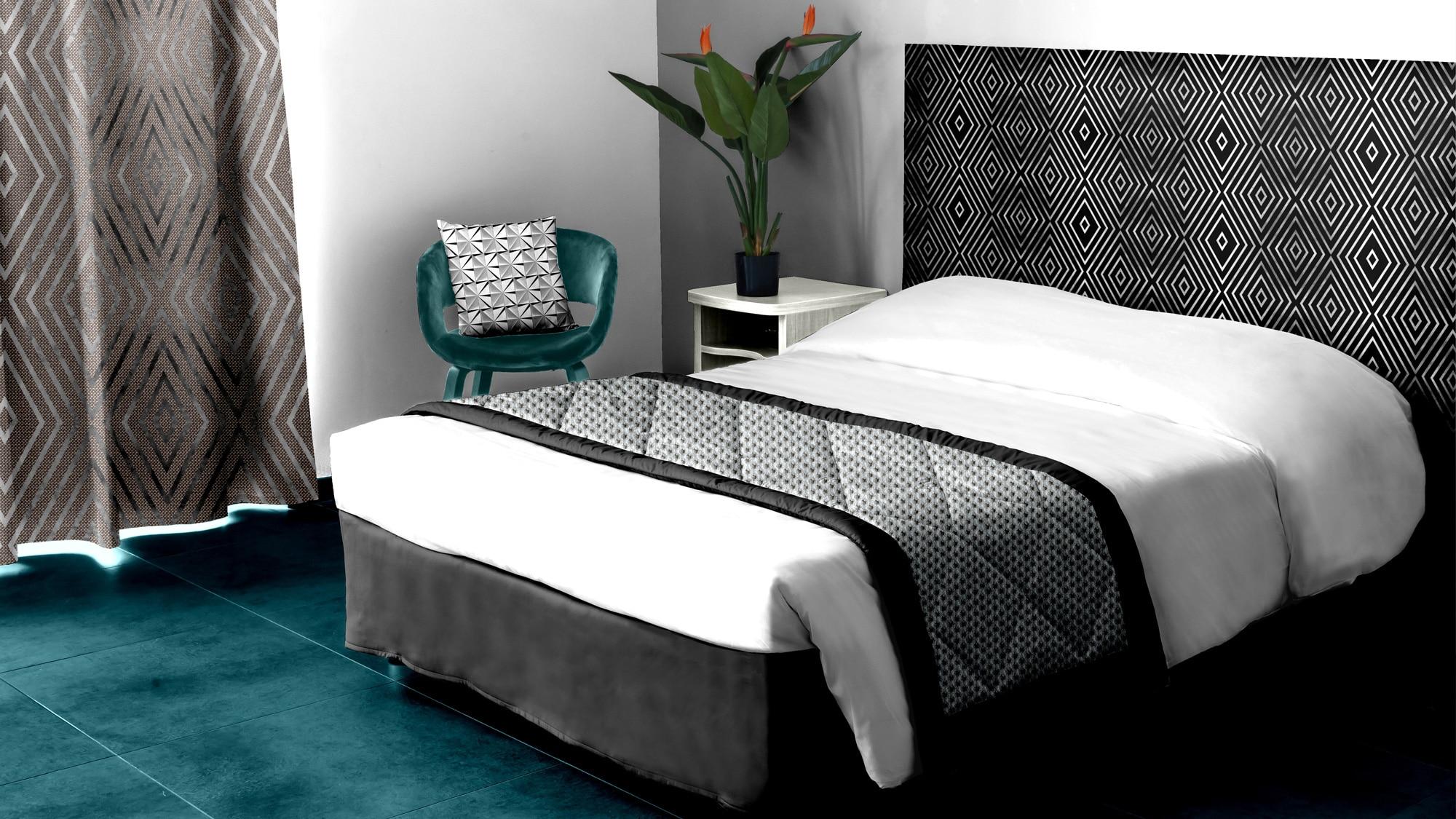 décoration textile chambre